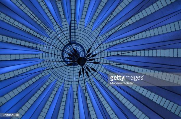 in berlin - sony center berlin stock pictures, royalty-free photos & images