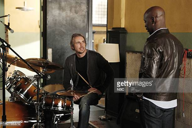 PARENTHOOD 'In Between' Episode 308 Pictured Dax Shepard as Crosby Braverman DB Woodside as Dr Joe Prestige Photo by Trae Patton/NBC/NBCU Photo Bank