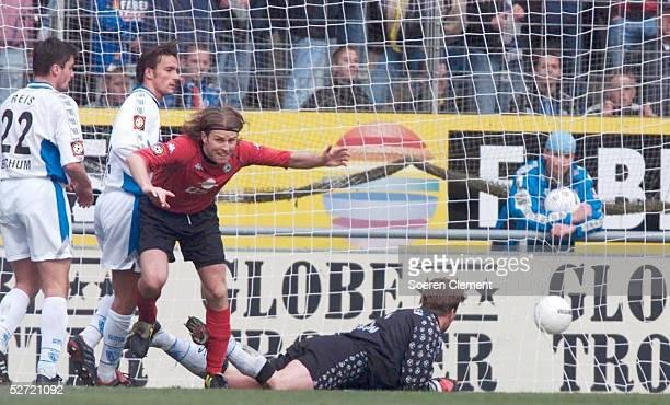 1 BUNDESLIGA 00/01 in Bochum VFL BOCHUM SV WERDER BREMEN 12 TOR zum 12 durch Frank VERLAAT/BREMEN