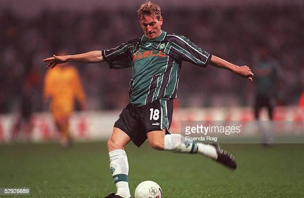 POKAL 99/00 in Bremen SV WERDER BREMEN FC BODOE GLIMT 11 Andreas HERZOG/BREMEN