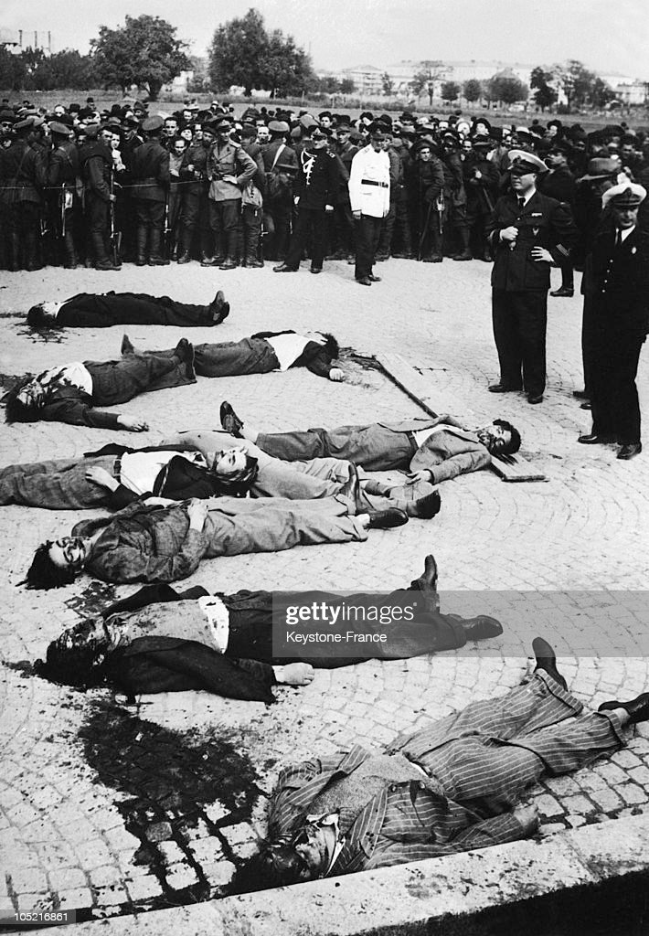 The Assassins Of Minister Calinescu In Romania In 1939 : News Photo