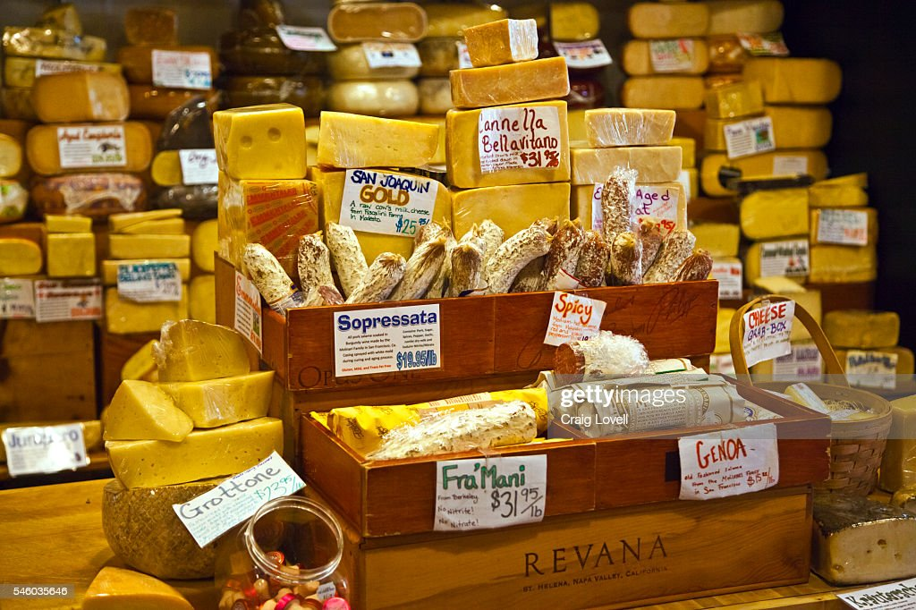 The famous CHEESE SHOP in CARMEL