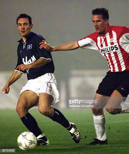 TESTSPIEL 2002 in Cartagena HAMBURGER SV PSV EINDHOVEN 67 nE Ingo HERTZSCH/HSV