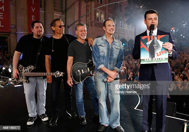 LIVE In celebration of a 2015 Summer/Fall North American Tour Van Halen performed a special concert for Walt Disney Television via Getty Images's...