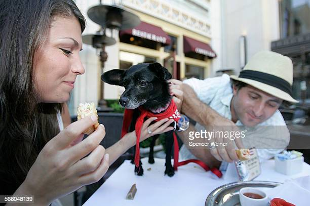 """In celebration of National Dog Week, LA dog lovers gathered at The Farm of Beverly Hills at The Grove to help kick off the national """"Eat with Your..."""