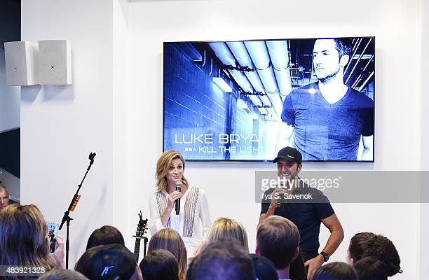 In celebration of Samsung's Galaxy S6 edge and Galaxy Note5 TV personality Erin Andrews hosts an intimate QA with Luke Bryan and his fans before he...