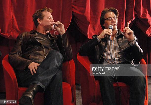 In celebration of the December 12 DVD release of 'The Doors 15th Anniversary Edition' actors Val Kilmer and Kyle MacLachlan reunite to discuss the...