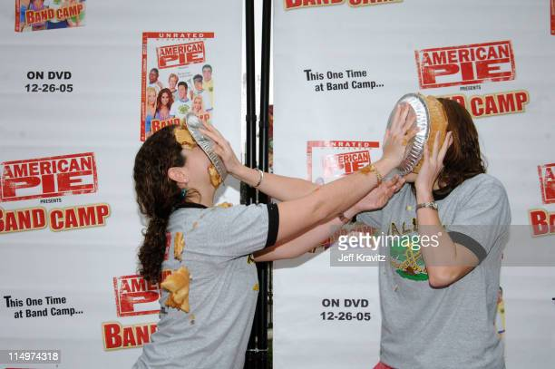In celebration of the DVD release of American Pie Presents Band Camp, shoppers at the Grove treated each other to some apple pie. Universal Studios...