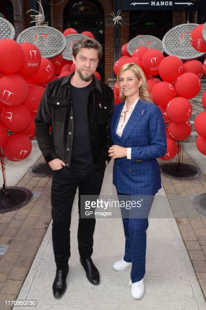 In celebration of their film's upcoming theatrical release IT CHAPTER TWO filmmakers Andy Muschietti and Barbara Muschietti visit Warner Bros...