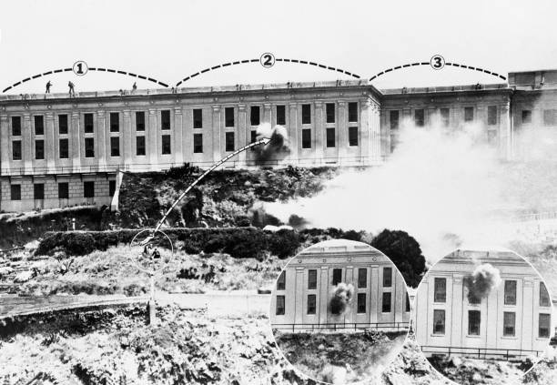 CA: 2nd May 1946 - 75 Years Since Prison Riot Known As The Battle Of Alcatraz Breaks Out