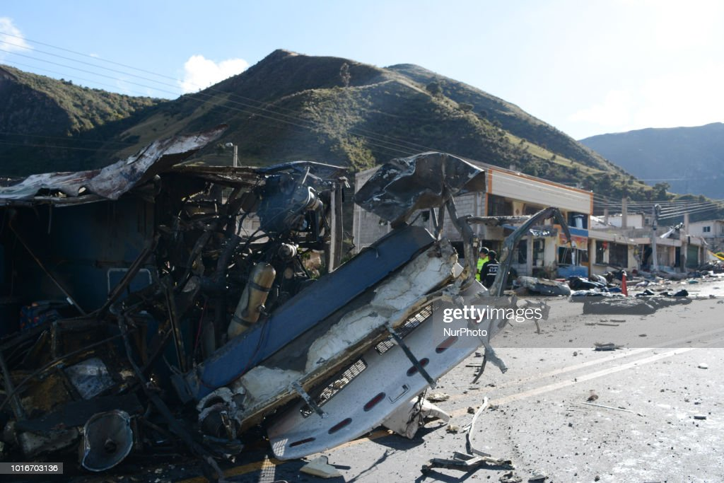 Bus Crash In Ecuador