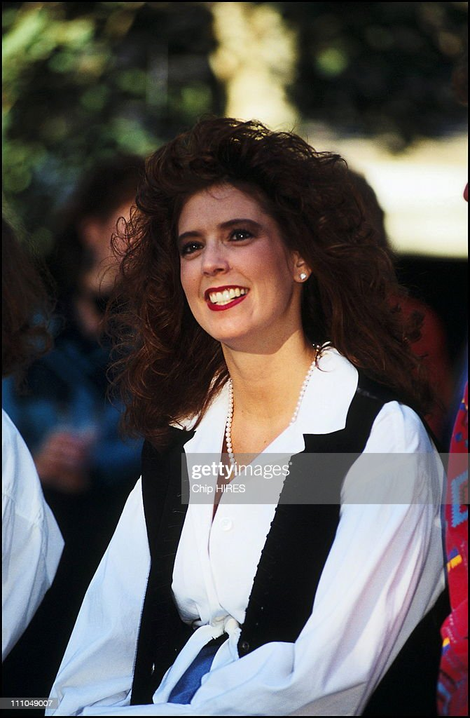 File pictures of Tamara Rotolo, mother of Jazmin Grace, daughter of Prince Albert II of Monaco in Cody, United States on August 22nd , 1993. : News Photo