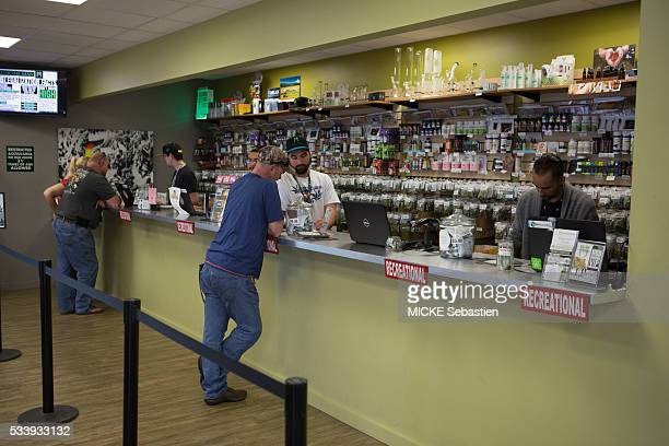 in Colorado following the legalization of cannabis in several states in Usa a new industry was born dealers and buyers in the Médicine Man company's...