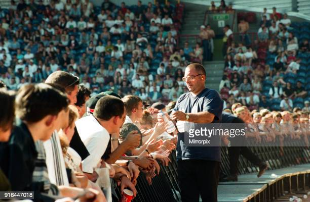 REM in concert at the Galpharm Stadium 25th July 1995
