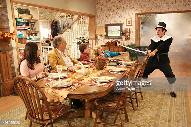 THE GOLDBERGS In Conclusion Thanksgiving Beverly insists the entire family gather for the holiday but tension builds when brotherinlaw Marvin tricks...