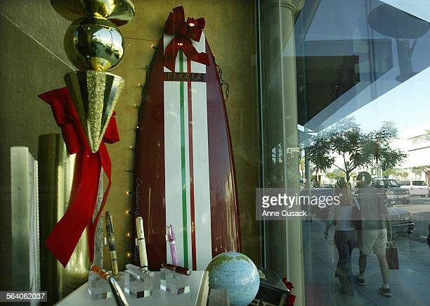 In decret A Ferrari surfboard sells for $5000 It is the only place in Los angeles that carries such an item This one is the 6th of 425 made The store...