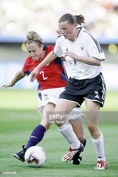 WM 2003 in den USA Halbfinale Portland Deutschland USA Kylie BIVENS/USA Pia WUNDERLICH/GER