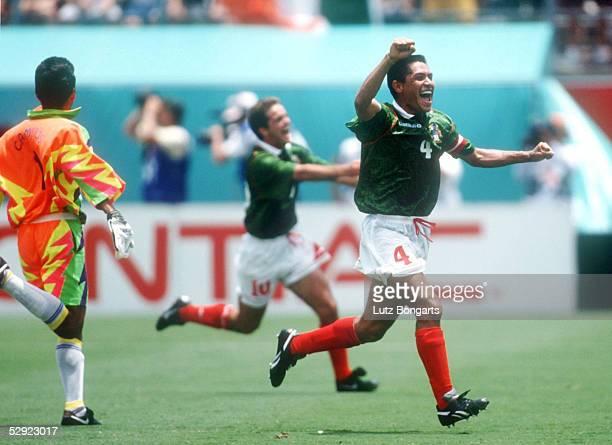 WM 1994 in den USA Orlando MEXIKO IRLAND 21 TORWART Jorge CAMPOS Alberto GARCIA ASPE AMBRIZ/MEX