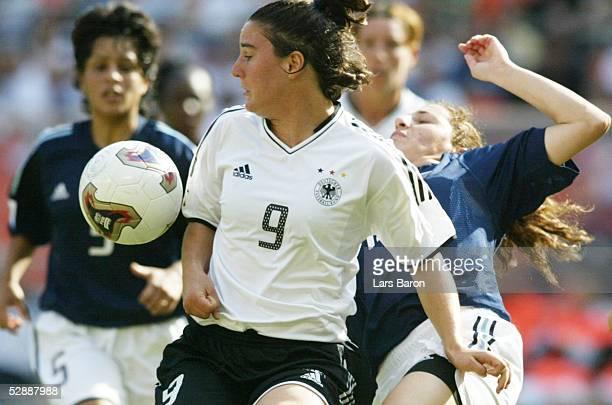 WM 2003 in den USA Washington DC Argentinien Deutschland Birgit PRINZ/GER Fabiana VALLEJOS/ARG