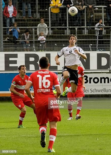 In der dritten Fußball Bundesliga treffen die Mannschaften aus Elversberg und dem VfB Stuttgart II im Elversberger Stadion an der Kaiserlinde...