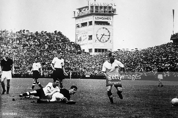 WM 1954 in der Schweiz Bern UNGARN DEUTSCHLAND 23 Fussballweltmeister 1954 Deutschland