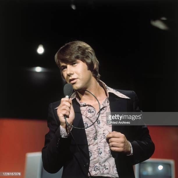 In der ZDF-Musiksendung Disco , 1975.