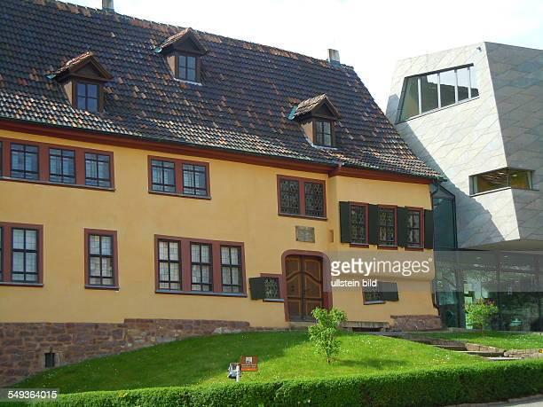 In diesem historischen Haus am Frauenplan wurde der spätere Komponist Johann Sebastian Bach geboren Aufgenommen in Eisenach am 30 April 2012