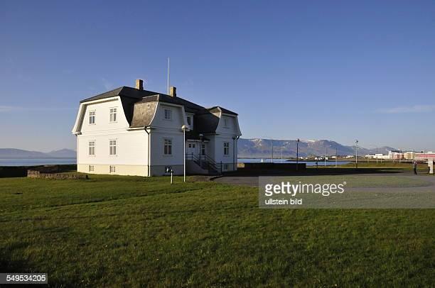 In dieser hölzernen Jugendstilvilla an der Uferstraße in der isländischen Hauptstadt Reykjavik trafen sich am 11 und 12 Oktober 1986 Ronald Reagen...
