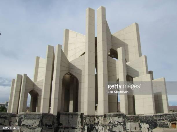 In dit bijzondere bouwwerk in Tabriz, Iran, worden 400 beroemde dichters geëerd.