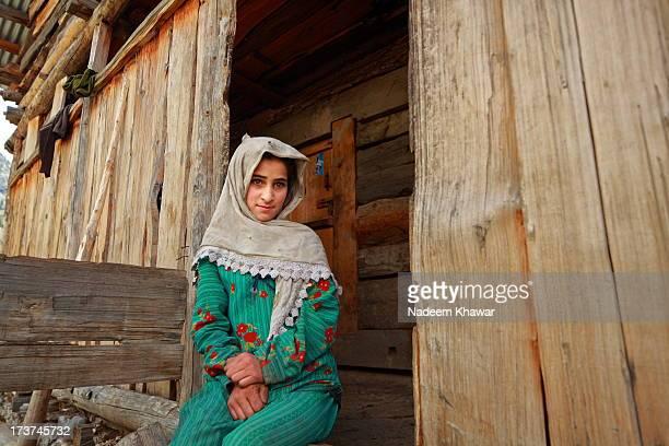 in door. - pakistan girl stock photos and pictures
