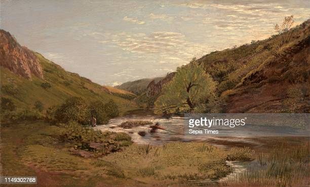 In Dovedale Summer Time John Linnell 17921882 British