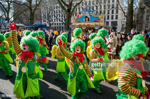 In Düsseldorf Germany on February 12th 2018 the calendar of Carnival events features no fewer than 300 Carnival shows balls anniversaries receptions...
