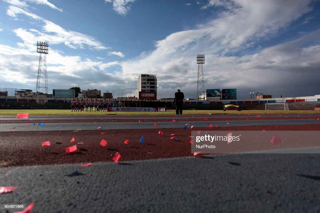 In Ecuador it is inaugurated in South American U-20 Femenino, in Riobamba, Ecuador, Saturday, January 13, 2018.