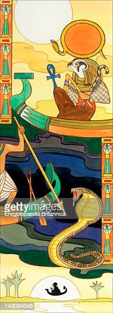 In Egyptian Mythology Ra Was Supreme Sun God Belief In Him Was So Strong That The Ancient Pharaohs Claimed Relation To Him