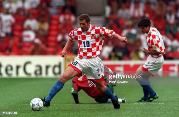 EM 1996 in ENGLAND Nottingham KROATIEN PORTUGAL 03 Zvonimir BOBAN/CRO