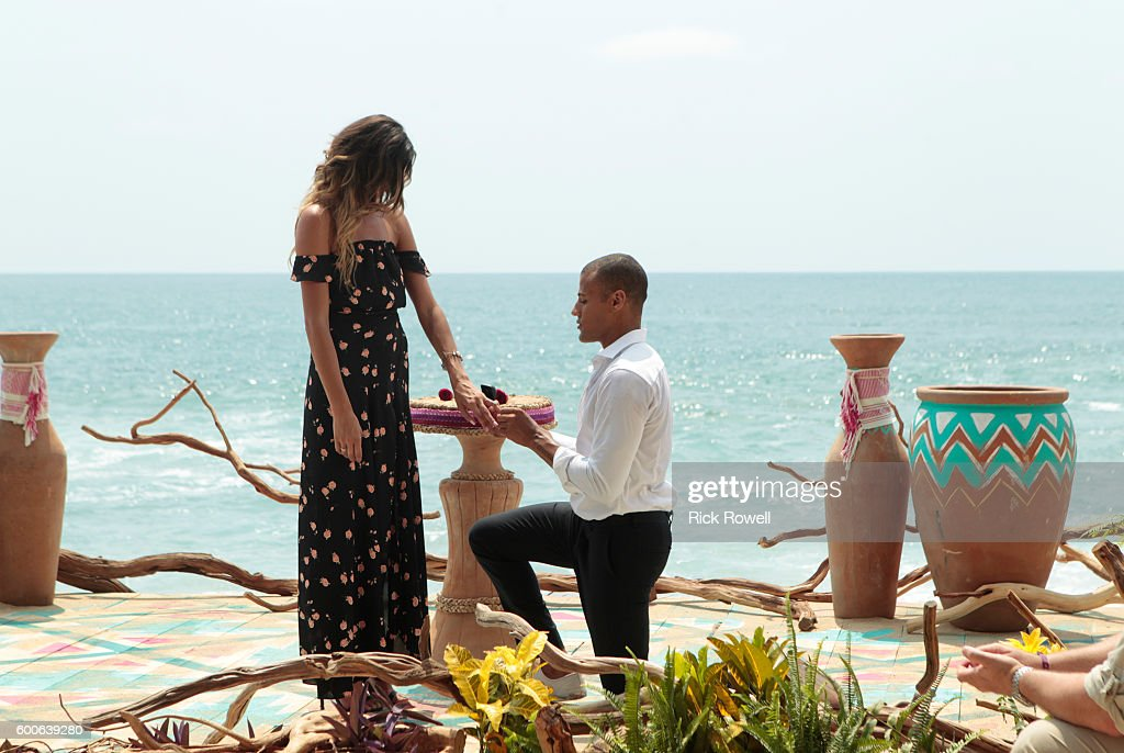 PARADISE - In 'Episode 306B,' which airs TUESDAY, SEPTEMBER 6 (8:00-9:00 p.m. EDT), the story picks up as one panicked bachelor voices his concerns to a devastated bachelorette, leaving her fearful going into the final rose ceremony. One vulnerable bachelorette worries that her reserved guy may not reciprocate her feelings of love going into the all-important day. The couples arrive to the final rose ceremony where the possibility of happily ever after is just ahead of them. Who will leave their time in Paradise engaged and ready to start their next chapter and who will leave with their heart broken? LACE