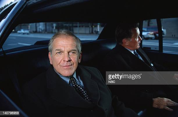 WING In Excelsis Deo Episode 10 Air Date Pictured John Spencer as Leo McGarry Martin Sheen as President Josiah Jed Bartlet Photo by Eric...
