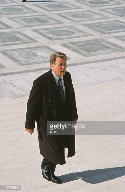 WING In Excelsis Deo Episode 10 Air Date Pictured Martin Sheen as President Josiah Jed Bartlet Photo by Eric Liebowitz/NBCU Photo Bank