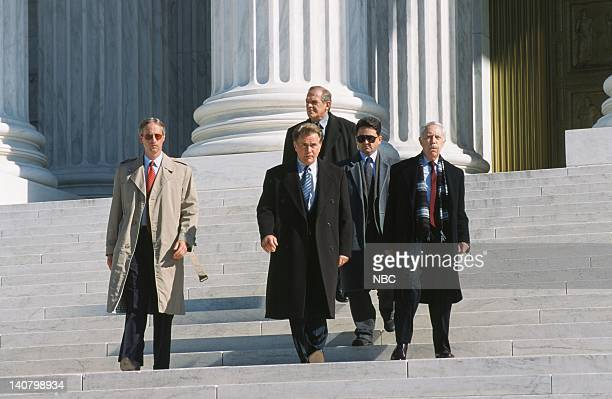 WING In Excelsis Deo Episode 10 Air Date Pictured Martin Sheen as President Josiah Jed Bartlet John Spencer as Leo McGarry Tom Quinn as John Noonan...