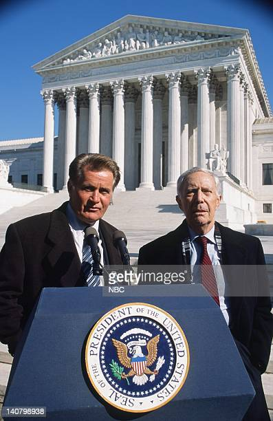 WING In Excelsis Deo Episode 10 Air Date Pictured Martin Sheen as President Josiah Jed Bartlet Tom Quinn as John Noonan Photo by Eric Liebowitz/NBCU...