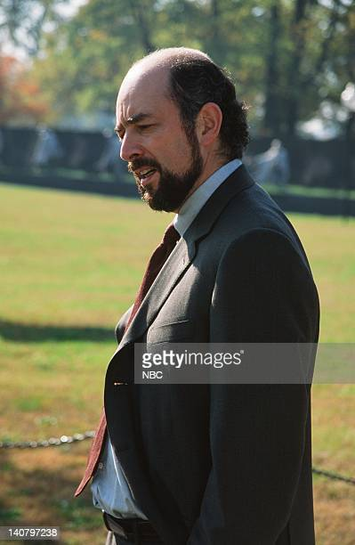 WING In Excelsis Deo Episode 10 Air Date Pictured Richard Schiff as Toby Ziegler Photo by Eric Liebowitz/NBCU Photo Bank