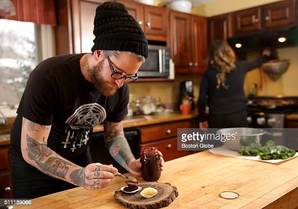 In Falmouth, Mass., Chef Brandon Baltzley and Laura Higgins tests menu items ahead of the opening of his Woods Hole restaurant, The 41-70, on Jan. 5,...