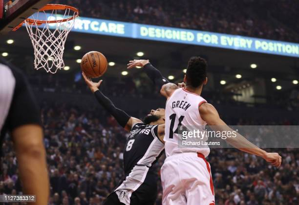 February 22: In first half action, fans watch San Antonio Spurs guard DeMar DeRozan be introduced. The Toronto Raptors took on the San Antonio Spurs...