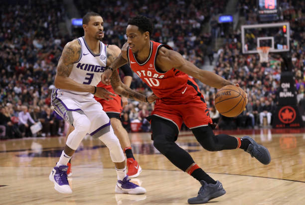 The Toronto Raptors took onthe Sacramento Kings at the ACC