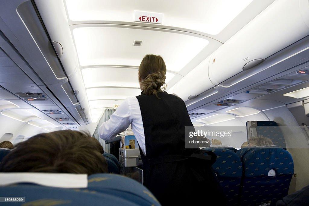 In flight food : Stock Photo