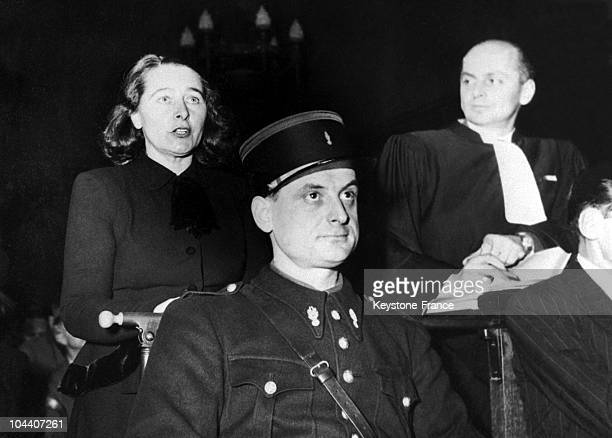 In France on February 23 the wife of the German Communist leader Heinz NEUMANN Margaret BUBERNEUMANN incarcerated by STALIN at a camp in Kazakhstan...