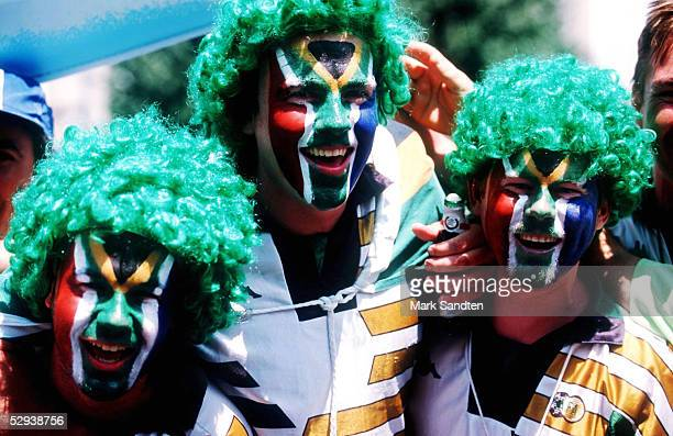 WM 1998 in Frankreich Bordeaux SUEDAFRIKA SAUDI ARABIEN 22 FANS SUEDAFRIKA