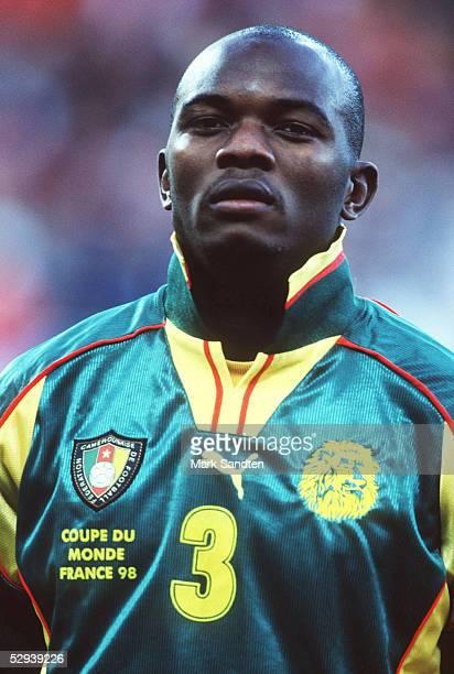 WM 1998 in Frankreich Toulouse KAMERUN OESTERREICH 11 Pierre WOME/CMR