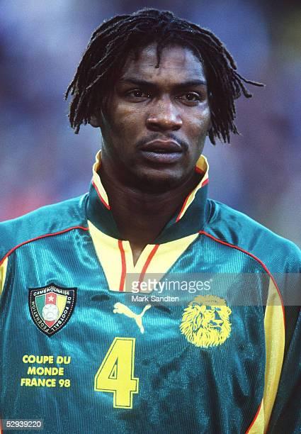 WM 1998 in Frankreich Toulouse KAMERUN OESTERREICH 11 Rigobert SONG BAHANAG/CMR