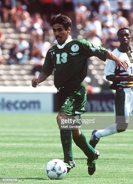 WM 1998 in FRANKREICH Vorrunde Bordeaux SUED AFRIKA SAUDI ARABIEN 22 Hussein SULIMANI/KSA